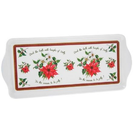 Deck the Halls Serving Tray